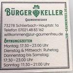 Bilde fra Hokenmaiers Bürgerkeller