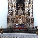 O belíssimo altar-mor em estilo rococó da Matriz de Nossa Senhora do Bonsucesso