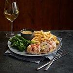 Chicken Pancetta & a glass of Chardonnay - Perfect