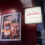Ground floor lobby's La Cafferia is a convenient place to get a cup of good coffee
