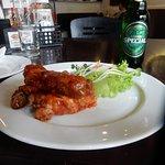 Ribs and Salad, Saigon Beer