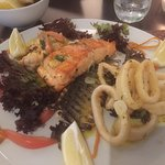 The fish special, superb