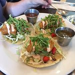 Chicken trio tacos