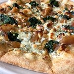 The Pear Walnut Pizza