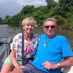 Wife and me in Sri Lanka