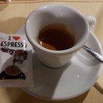 L'espresso è ottimo!