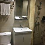 伯惠酒店(WE HOTEL)浴室一隅