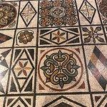 Amazing floor mosaic detail