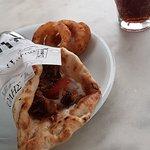 Delicious pita gyros