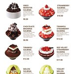 Our top sellers all on one page - Chocolate, Strawberry and Melon Sulbing