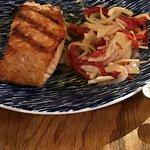 Salmon--very tasty.