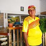 Nuestro Amigo y Proveedor de hortalizas, Don Walter Mejía saludos!