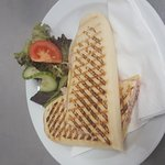 Choose from numerous fillings for your perfect Panini, Sandwich or Baguette