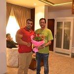 Rajiv Raja at Hotel Prince Viraj