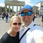 Brandenburg Gate selfie