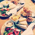 Sharing boards on Saturdays and Ploughmans through the week (in the summer)