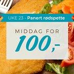 Middag for 100kr uke 23
