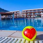 Lige billeder fra værste første besøg til Pefki Island resort / Island blue