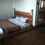 Duplex Lower Level bed on floor