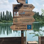 I took a ride on one of the hotel's bikes to Borghetto, a must see little town along a gorgeous river