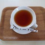 ローズカフェで頂いた紅茶。