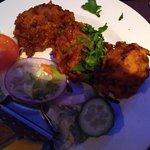 Starter - Onion Bhajis