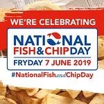 Celebrate National Fish & Chip Day 2019 at Olivers in Redcar!
