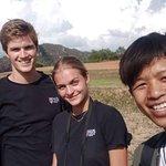 trekking with Aung