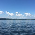 Another beautiful day on Cayuga Lake.