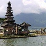 Floating temple on Lake Bratan