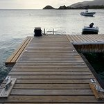 Dock by the beach