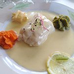 filet de merlu sauce hollandaise
