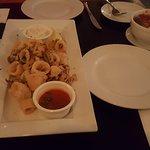 calamari + meatballs