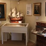 The Endeavour in the Navigation room