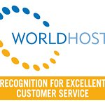 World Host Customer Service recognition award