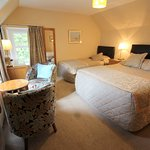 Room 12 Family Room, Superior queen double and  Twin Room  with bath/ shower ensuite and scenic views