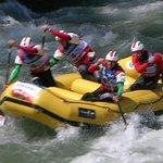 Rafting nel torrente Noce a 100 metri
