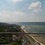 Ausblick Richtung Laboe und Kiel