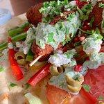 Vegetarian Greek koftas
