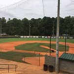 One Football/Soccer field, Five Baseball fields plus batting cages
