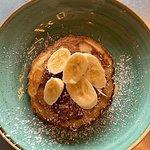 nutella and banana pancakes