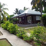 Out side view of bungalow