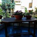 Ciascuna stanza è dotata di balcone, offrendo una riposante sensazione ai viaggiatori...