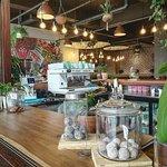 oh so colourful...🙌💞 #sustainable #raw #nutritious #consciousliving #organic #paleo #primal #delicious #organic #biodynamic #bloggers #restaurantdecor #restaurantinterior #colourpop #snacks #thehatch #sanremo #acmeco #junglefever #ambient #amber #glutenfree #wheatfree #refinedsugarfree #grainfree #nourishment #revitalisation #capetown #southafrica