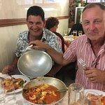 Delicious Cataplana at Cantinho Algarvio - thank you, Carlos!