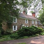 This colonial house is on the grounds. Not available for the public to tour, but it and the barns add to the overall sense of history one feels while walking through the gardens.