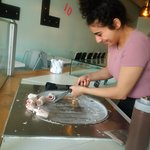 Scrollio Rolled Ice Cream照片