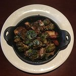 Roasted Brussel Sprouts    @travelwinefoodie