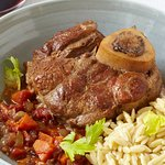 Pork osso buco, no words to express how delicious this is.