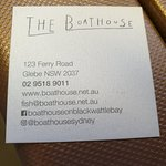 ภาพถ่ายของ The Boathouse on Blackwattle Bay